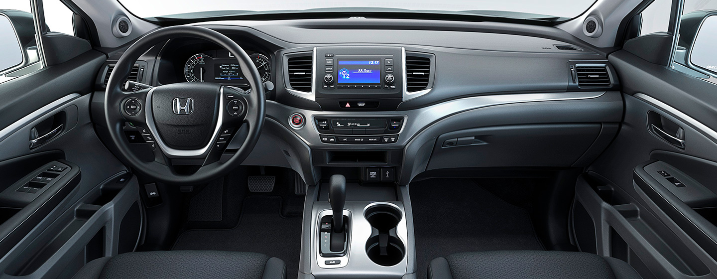 Interior of the 2019 Honda Ridgeline for sale at our Honda dealership near Gainesville, FL