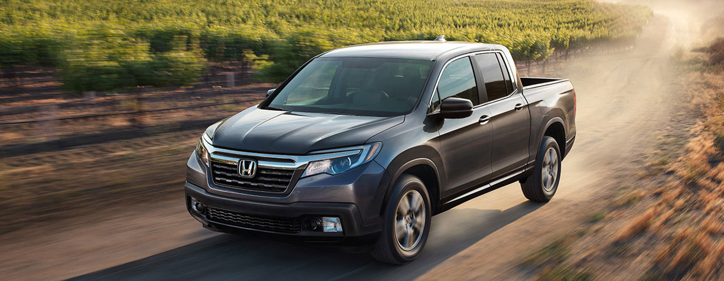 2019 Honda Ridgeline in motion