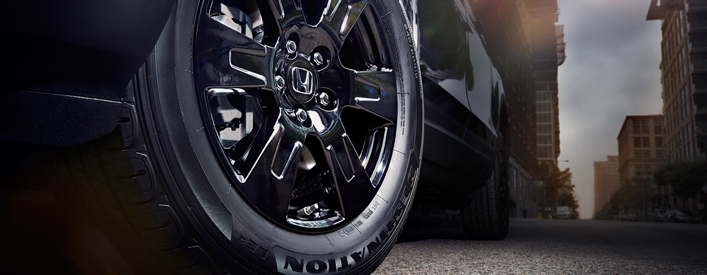 2019 Honda Ridgeline wheel detail