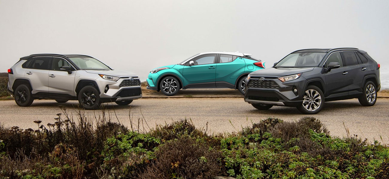 The 2019 Toyota RAV4 is available at our Toyota dealership in Columbus, GA