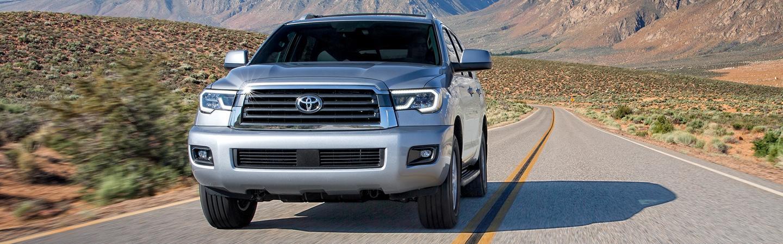 2020 Toyota Sequoia in motion
