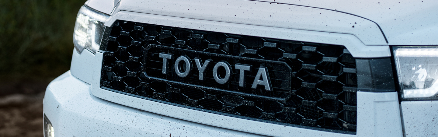 Front grille of the 2020 Toyota Sequoia