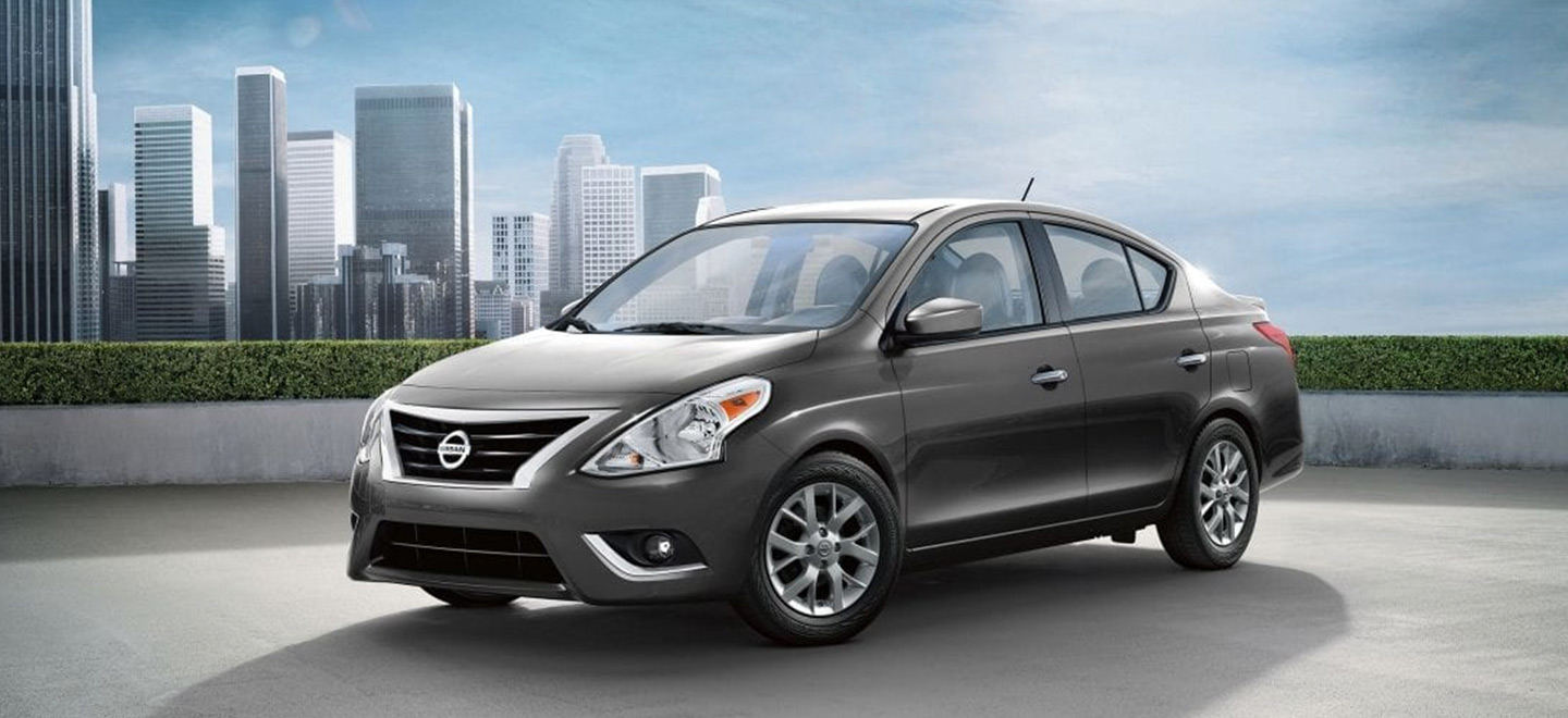 The 2019 Nissan Versa is available at our Nissan dealership in Flagstaff, AZ.