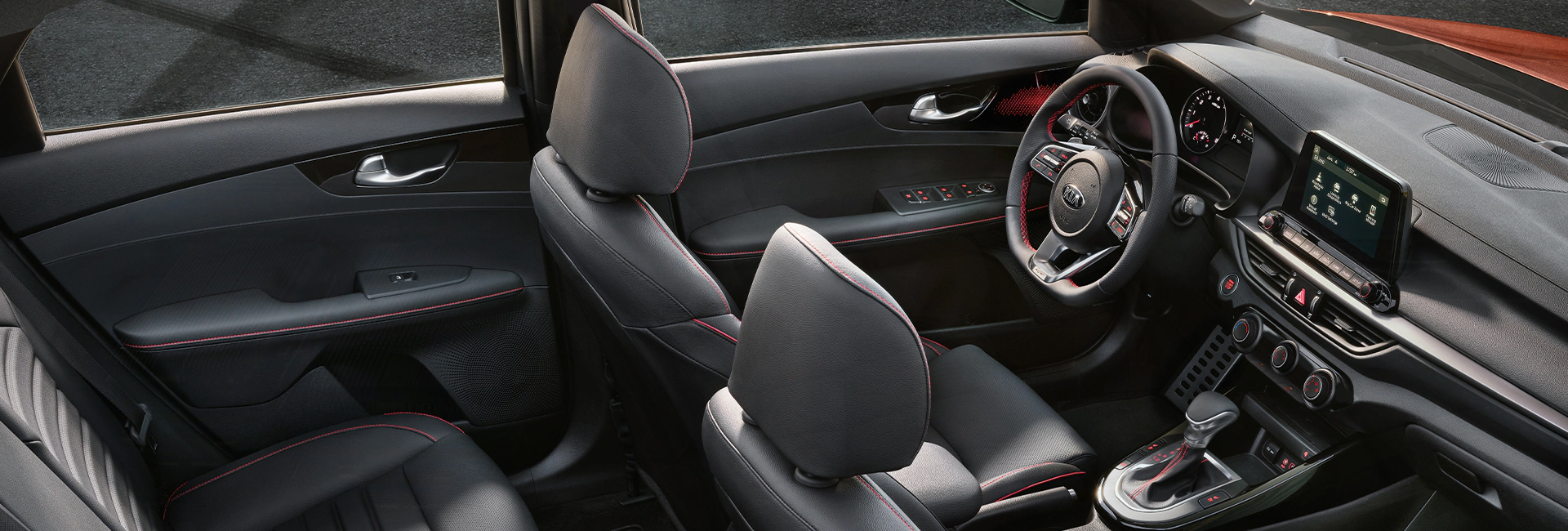 Interior image of the 2020 Kia Forte