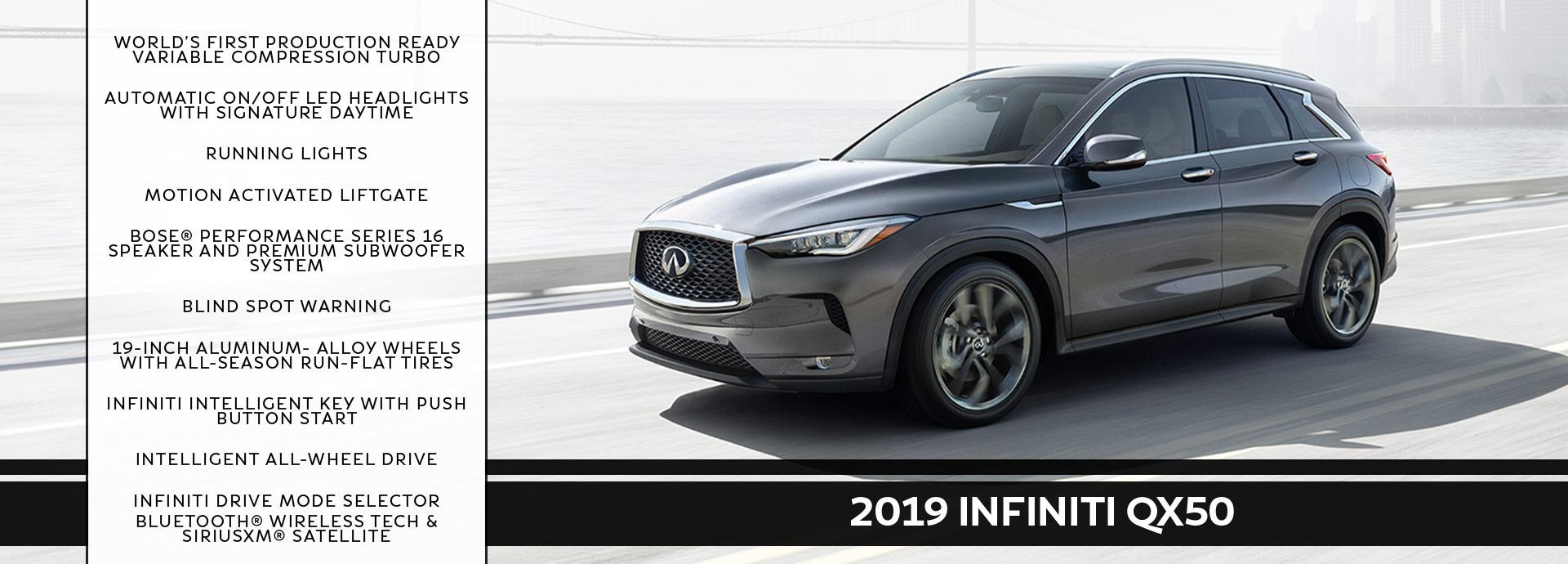 New 2019 INFINITI QX50 Offer