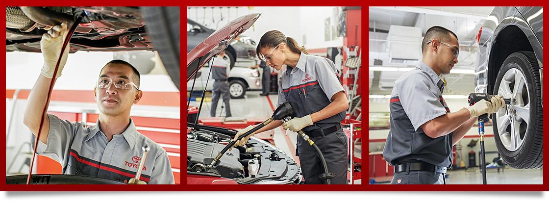 Visit Toyota Of Tampa Bay's Auto Service Center in Brandon, FL