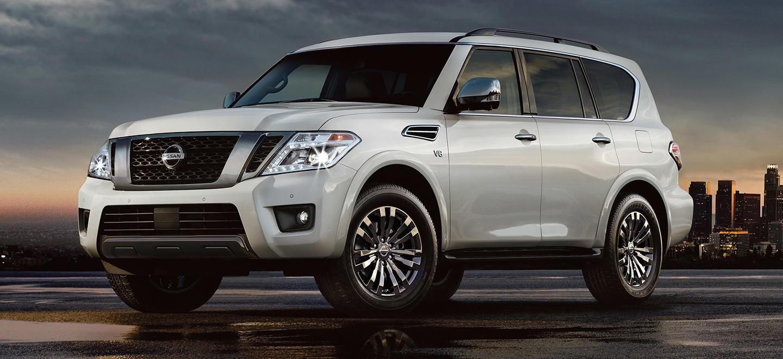 The 2019 Nissan Armada is available at our Nissan dealership near Oklahoma City, OK.