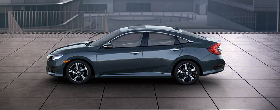 2018 Honda Civic - side view