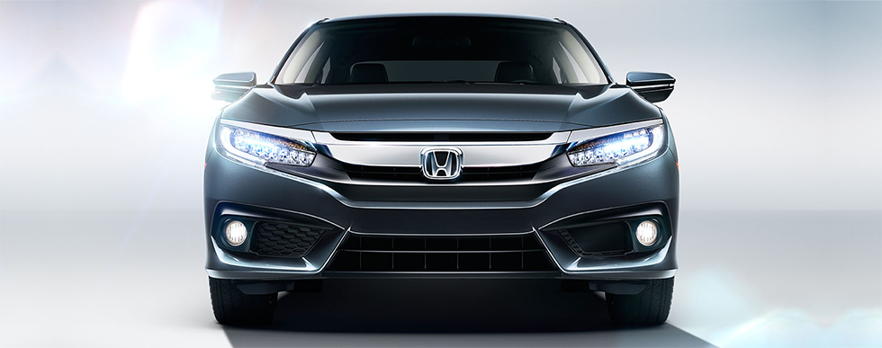 2018 Honda Civic - front view