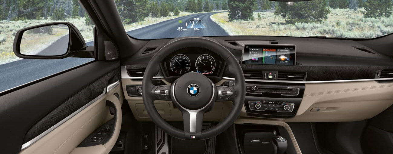 Safety features and interior of the BMW X1 - available at our BMW dealership near Boca Raton, FL.