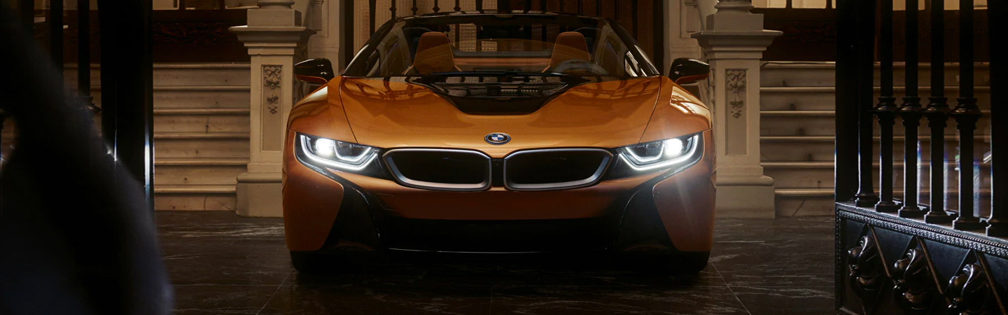 Exterior image of the 2019 BMW i8