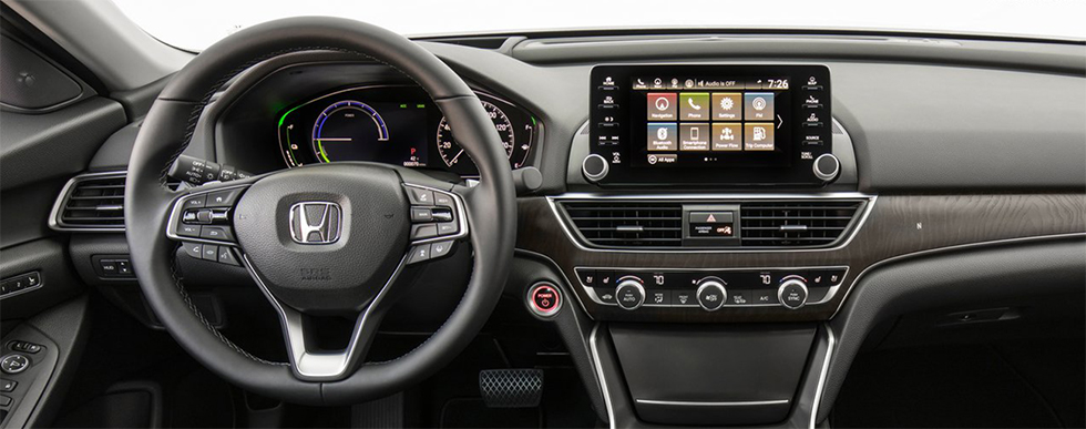 Safety features and interior of the 2018 Honda Accord - available at our Honda dealership near Gainesville, FL.