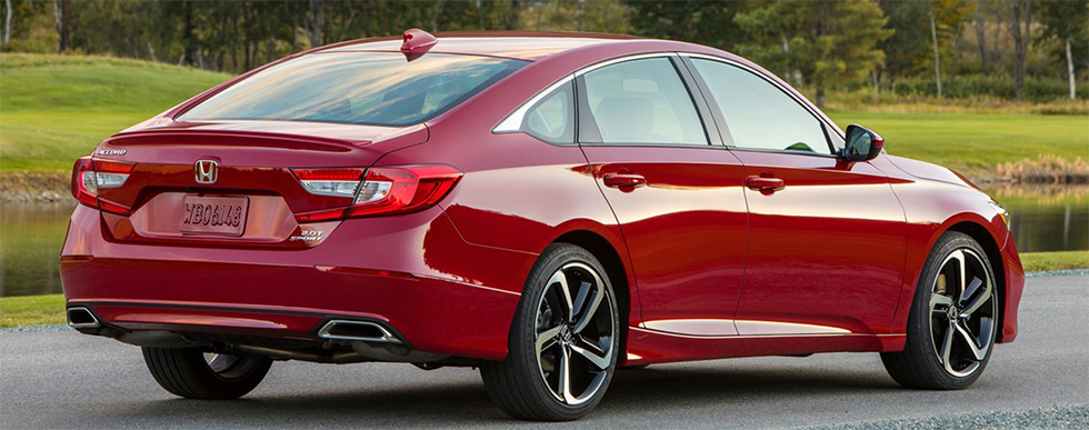 2018 Honda Accord - rear view