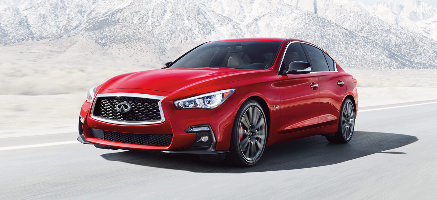 The 2019 INFINITI Q50 is available at our INFINITI dealership in Miami, FL.