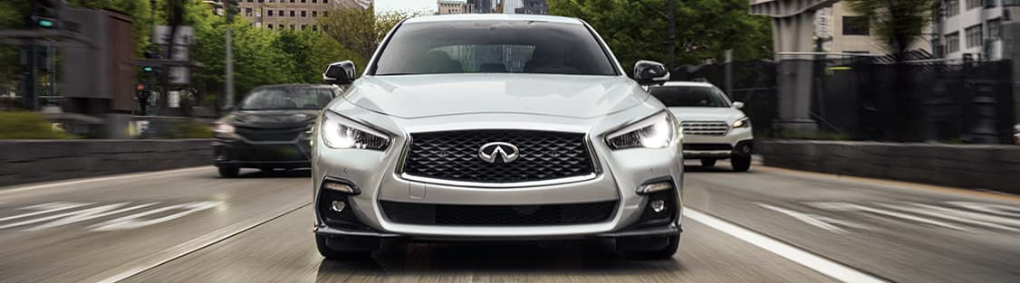 2019 INFINITI Q50 Front End Driving