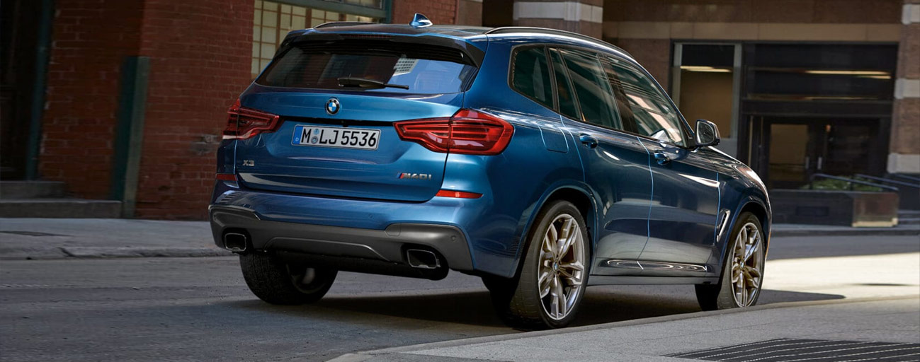 2019 BMW X3 Exterior Back Right - Parked on the street.