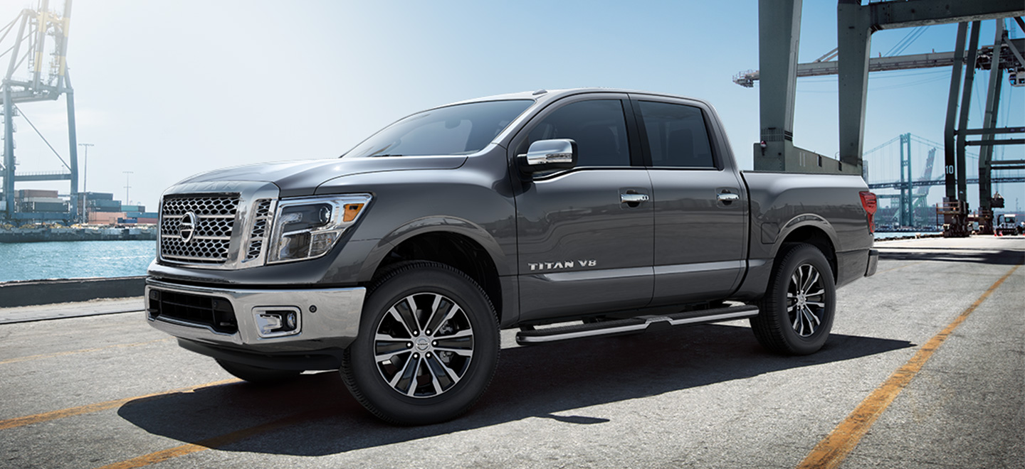 The 2019 Nissan Titan is available at our Nissan dealership near Oklahoma City, OK.