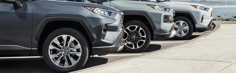 2020 Toyota RAV4 tires