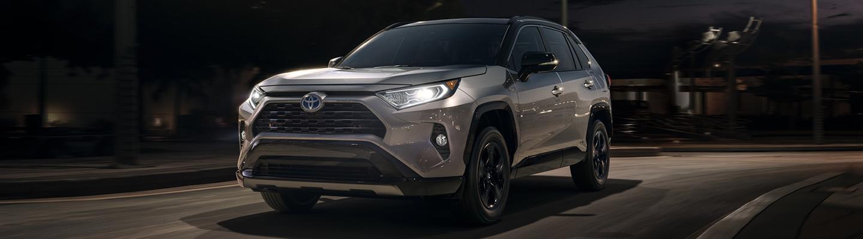 2020 Toyota RAV4 Hybrid in motion