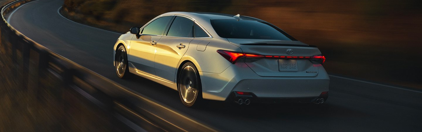 2020 Toyota Avalon in motion