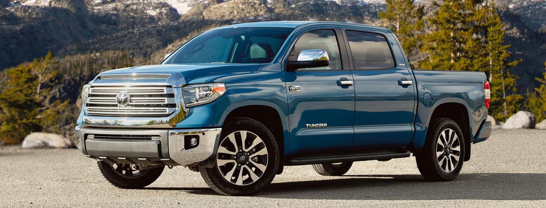 2020 Toyota Tundra parked