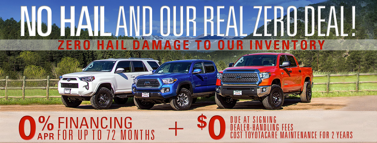 Car Dealers With No Dealer Fees >> No Damage To Inventory Mountain States Toyota