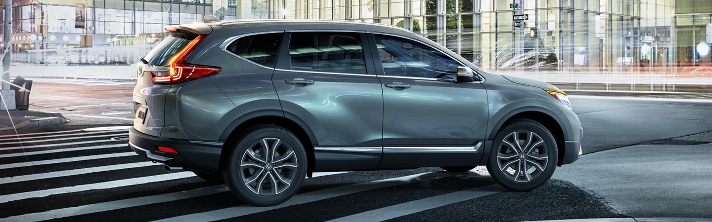 Left side view of a 2020 Honda CR-V