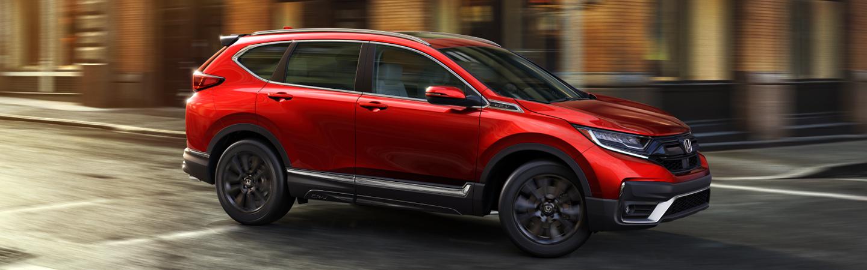Red 2020 Honda CR-V