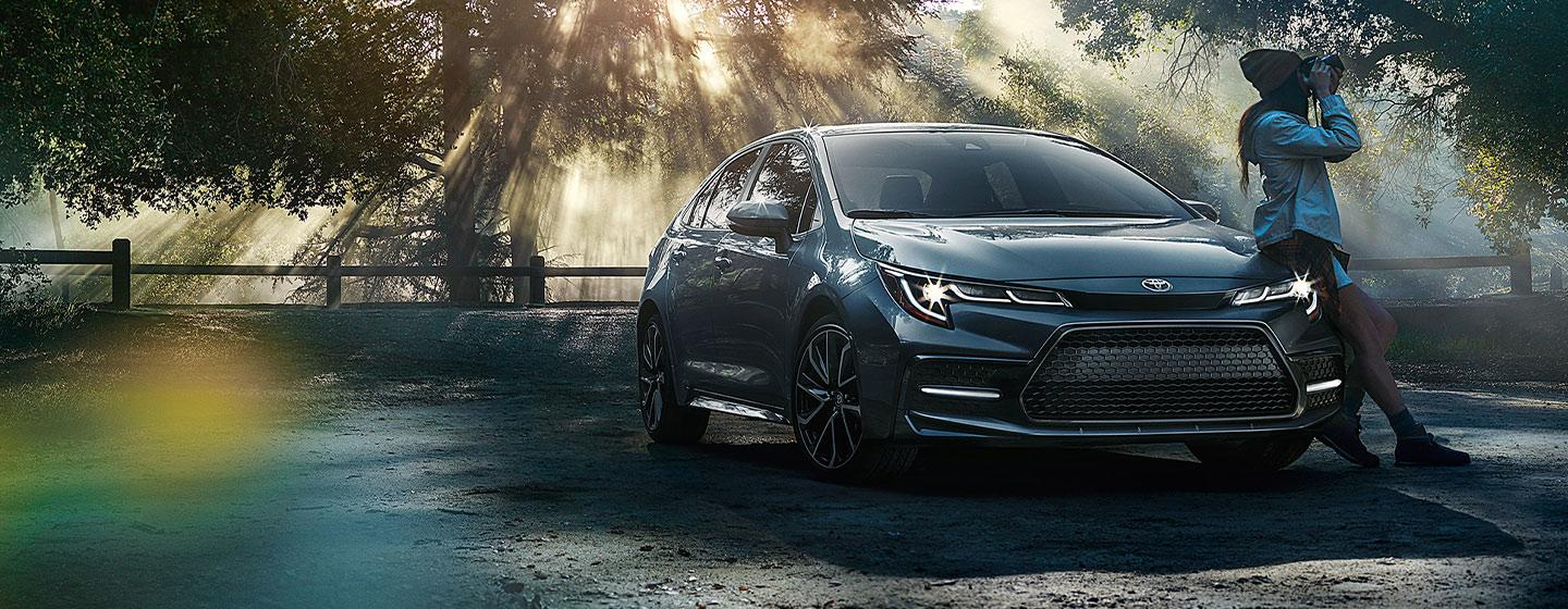 2020 Toyota Corolla parked