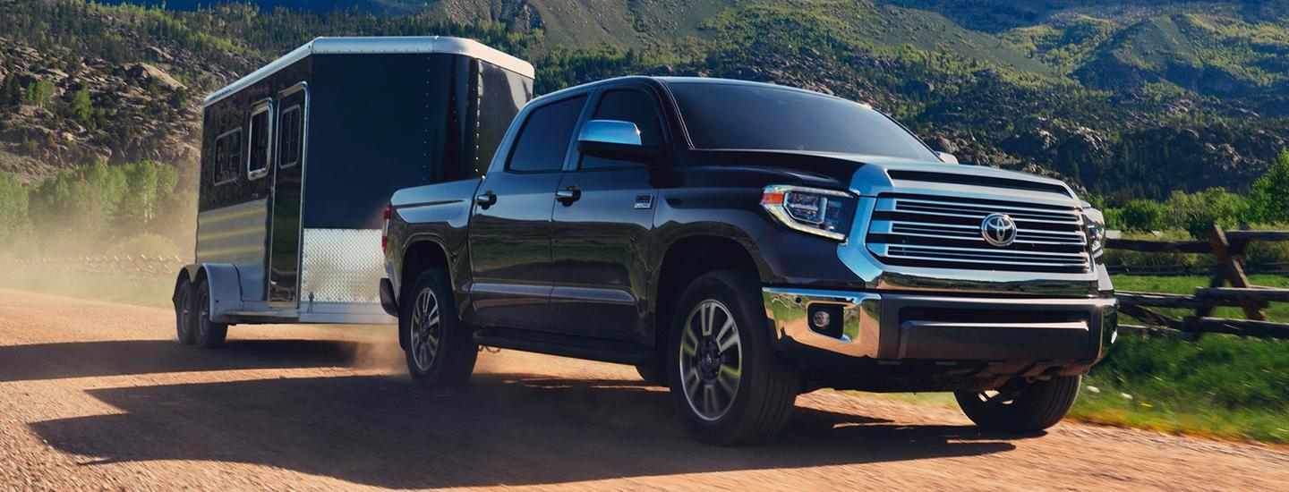 2020 Toyota Tundra off-road towing
