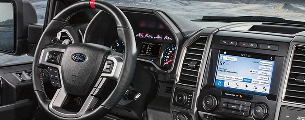 Safety features and interior of the 2018 F-150,F-250,F-350 - available at our Ford dealership near Land o' Lakes Florida