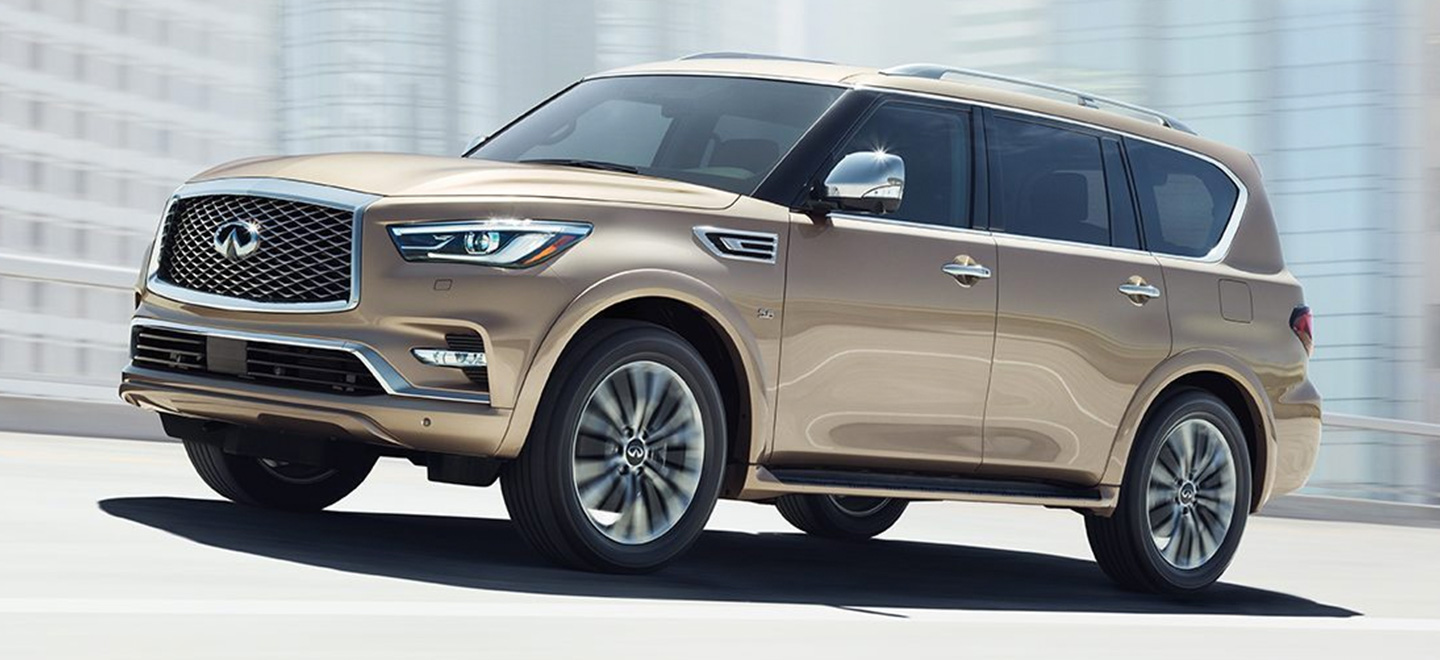 The 2019 INFINITI QX80 is available at our INFINITI dealership in Miami, FL.
