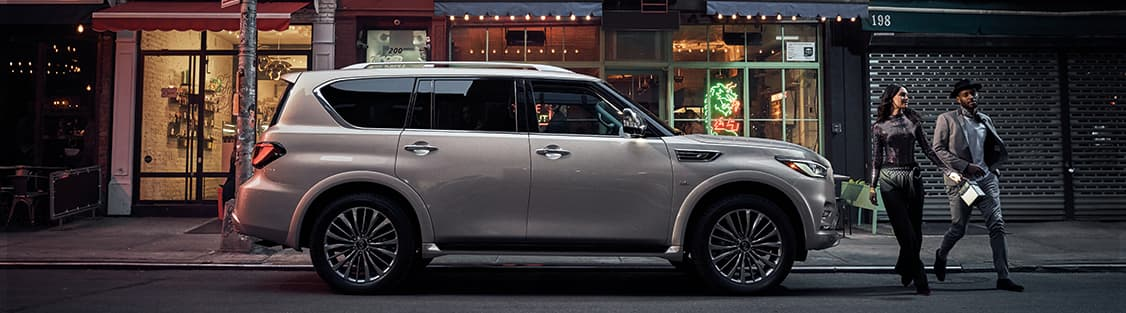2019 INFINITI QX80 - Parked - Side Profile