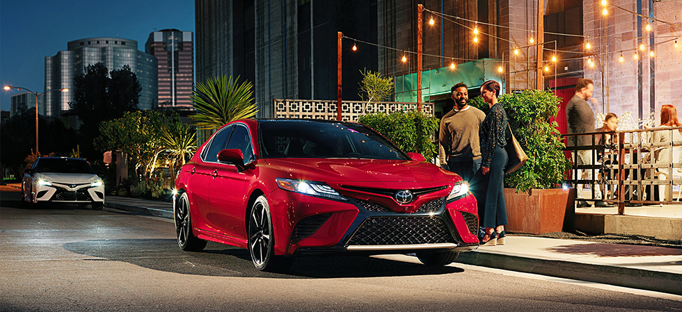 The 2019 Toyota Camry is for sale at our Toyota] dealership in Lake City