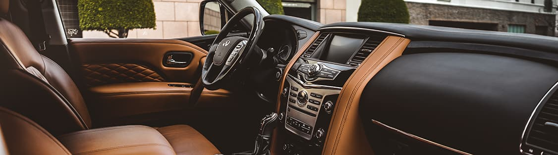 2019 INFINITI QX80 Interior and Tech Features