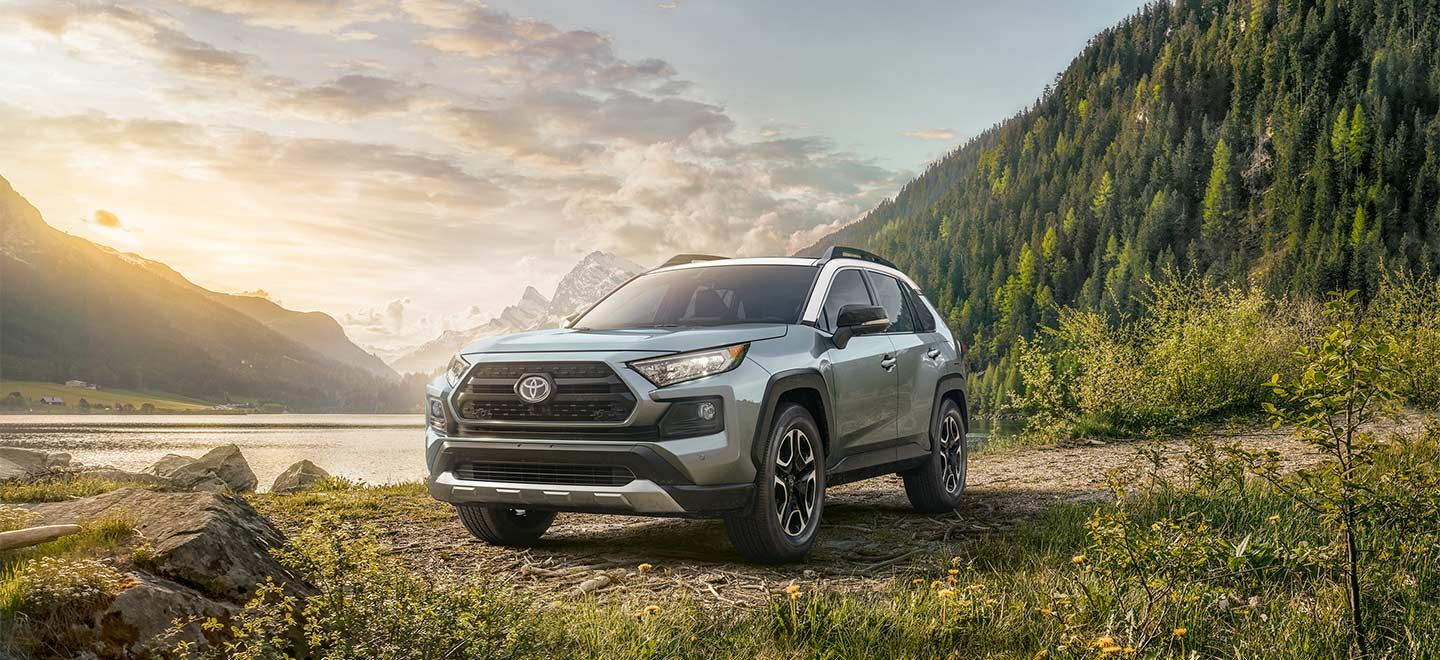 The 2019 Toyota RAV4 At Toyota Of Tampa Bay, FL.