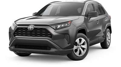 2019 Toyota RAV4 LE at Toyota of Tampa Bay, FL.
