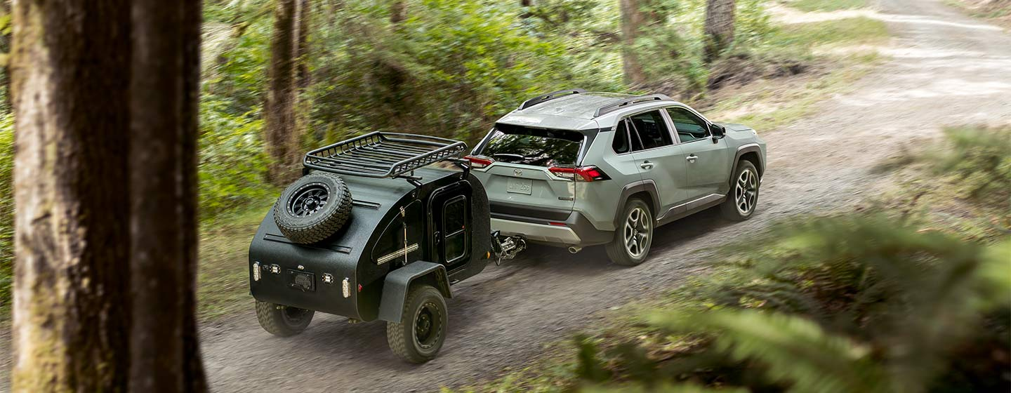 2019 Toyota RAV4 with Camping equipment