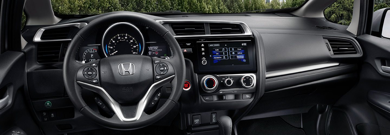 Interior of the 2019 Honda Fit available at South Motors Honda