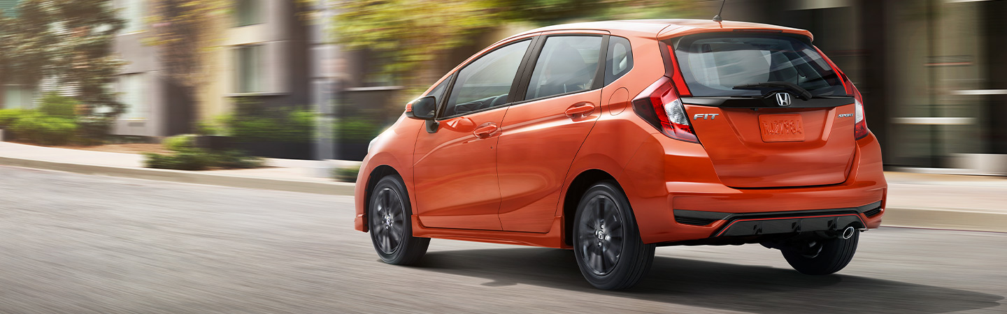 Exterior of the 2019 Honda Fit available at our Miami car dealership