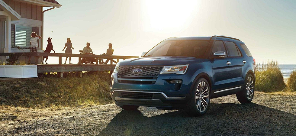 The 2018 Ford Explorer is available at our Ford dealership in Port Richey, FL.