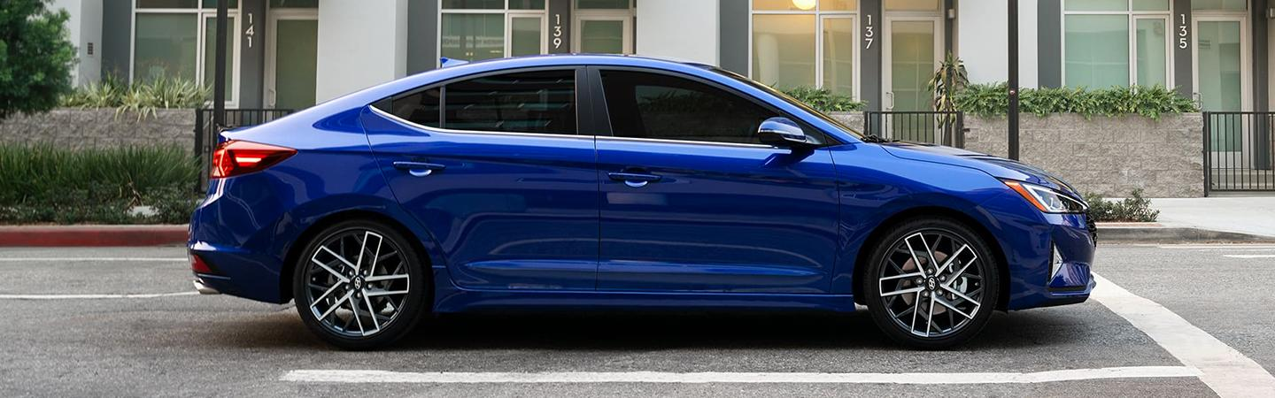 Picture of the 2020 Hyundai Elantra for sale at Brandon Hyundai dealer in Tampa.