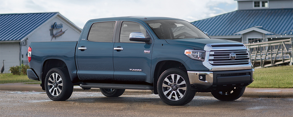 Exterior of the 2019 Toyota Tundra for sale at our Toyota dealership Lake City FL