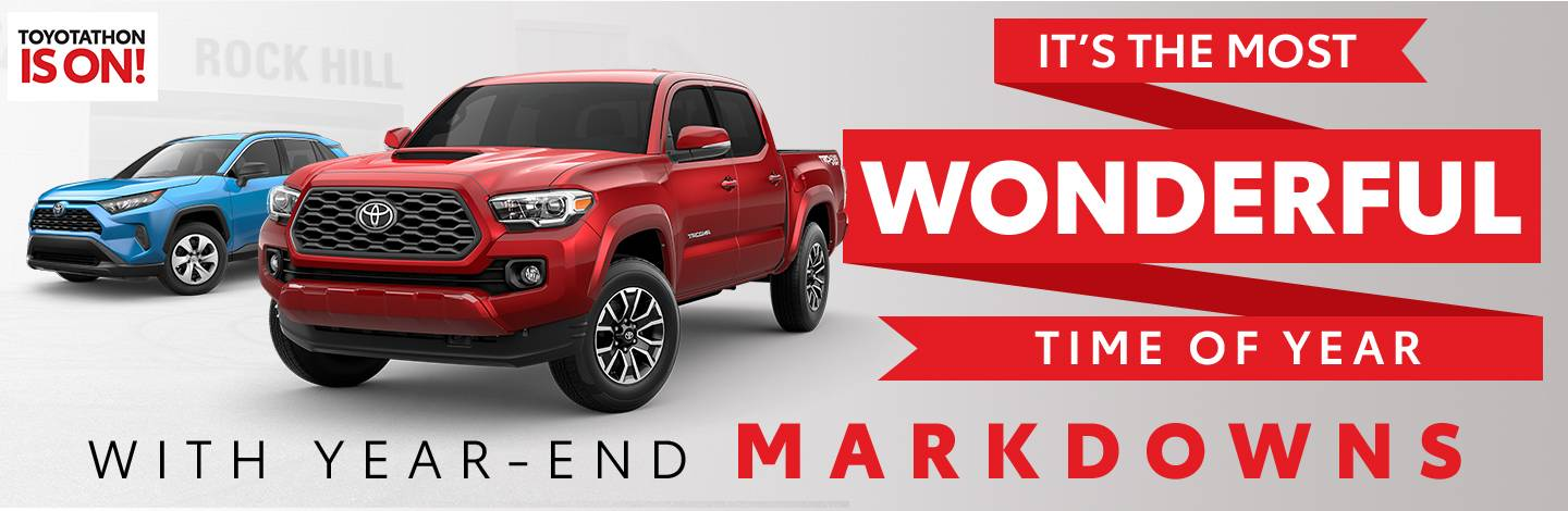 The Toyota Clearance Event Is On! | Don't Wait - Save Today!