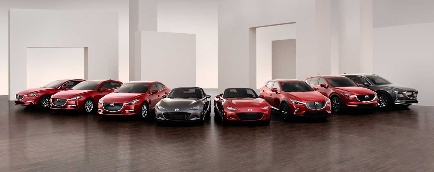 Mazda Line-up at our Naples Mazda dealership near Cape Coral, FL