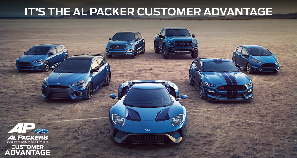 IT'S THE AL PACKER CUSTOMER ADVANTAGE