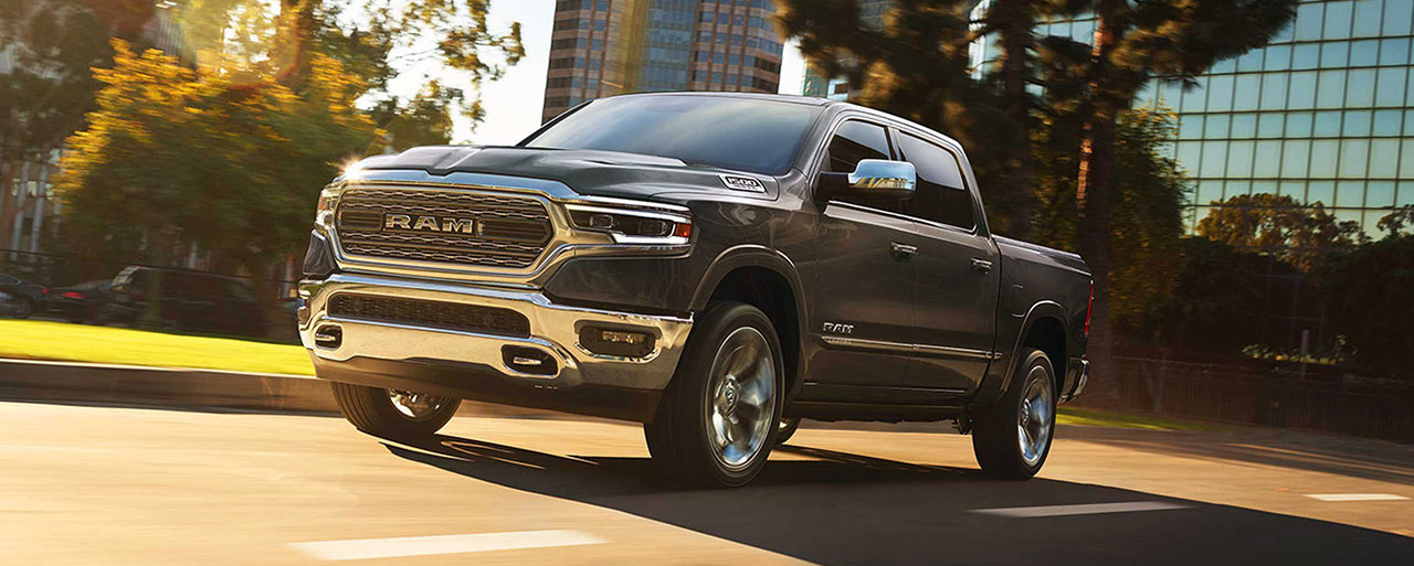 Exterior of the 2019 RAM 1500 - available at our RAM dealership near Cape Coral, FL.