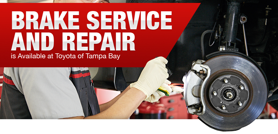 Beautiful Brake Service Is Available At Toyota Of Tampa Bay