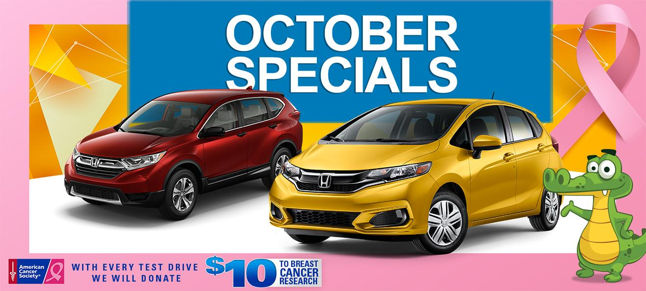 Honda of Gainesville Specials