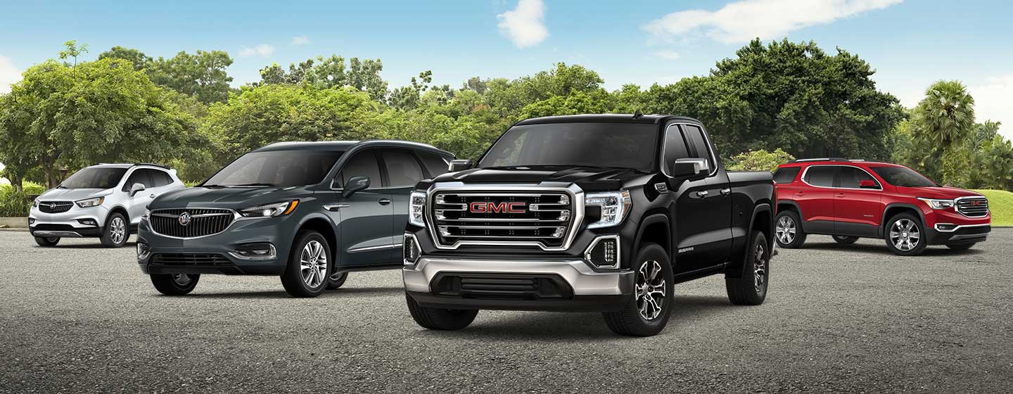 Buick and GMC Vehicle line up available at Gainesville Buick GMC near Ocala, FL